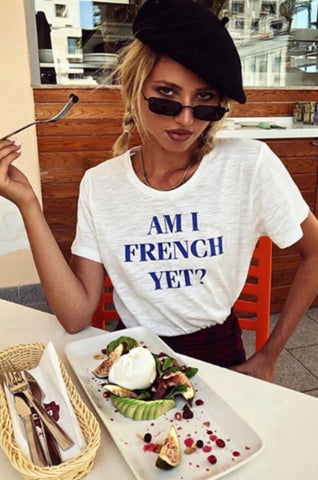 FRENCH YET? TEE