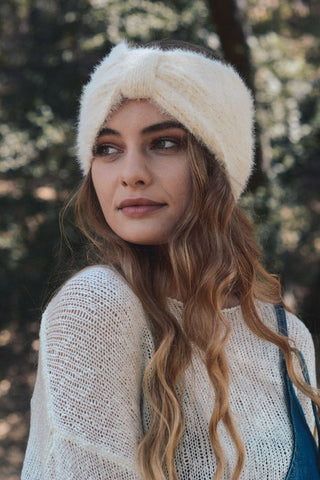 ULTRA SOFT HEADBAND - IVORY