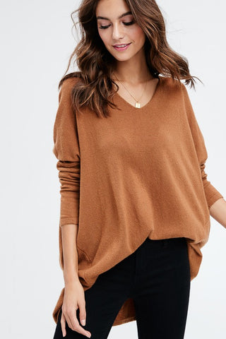 SOFT LUXE DOLMAN TOP