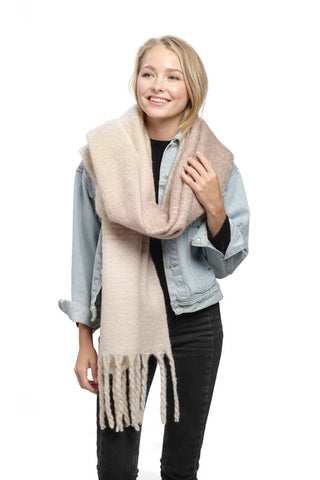 SO COZY SCARF - PINK