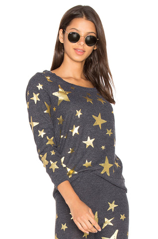 STARRY NIGHT KNIT PULLOVER