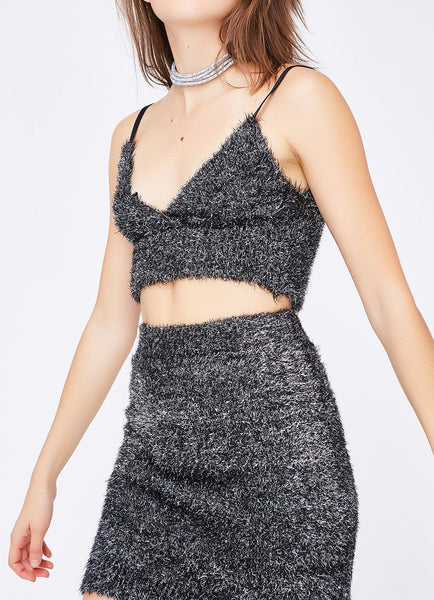 SPARKLE CROP TOP