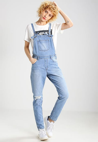 DENIM OVERALLS - SHOP MĒKO