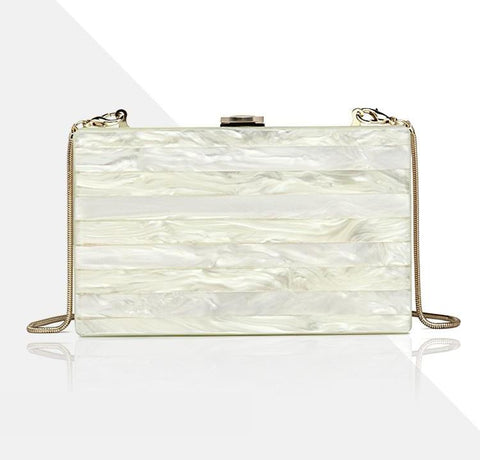 PEARLIZED CLUTCH