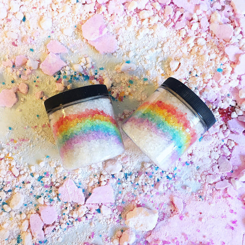 SALTED RAINBOW MINERAL SALT SOAK