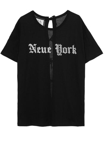 NEUE YORK LOOSE FIT TEE - SHOP MĒKO