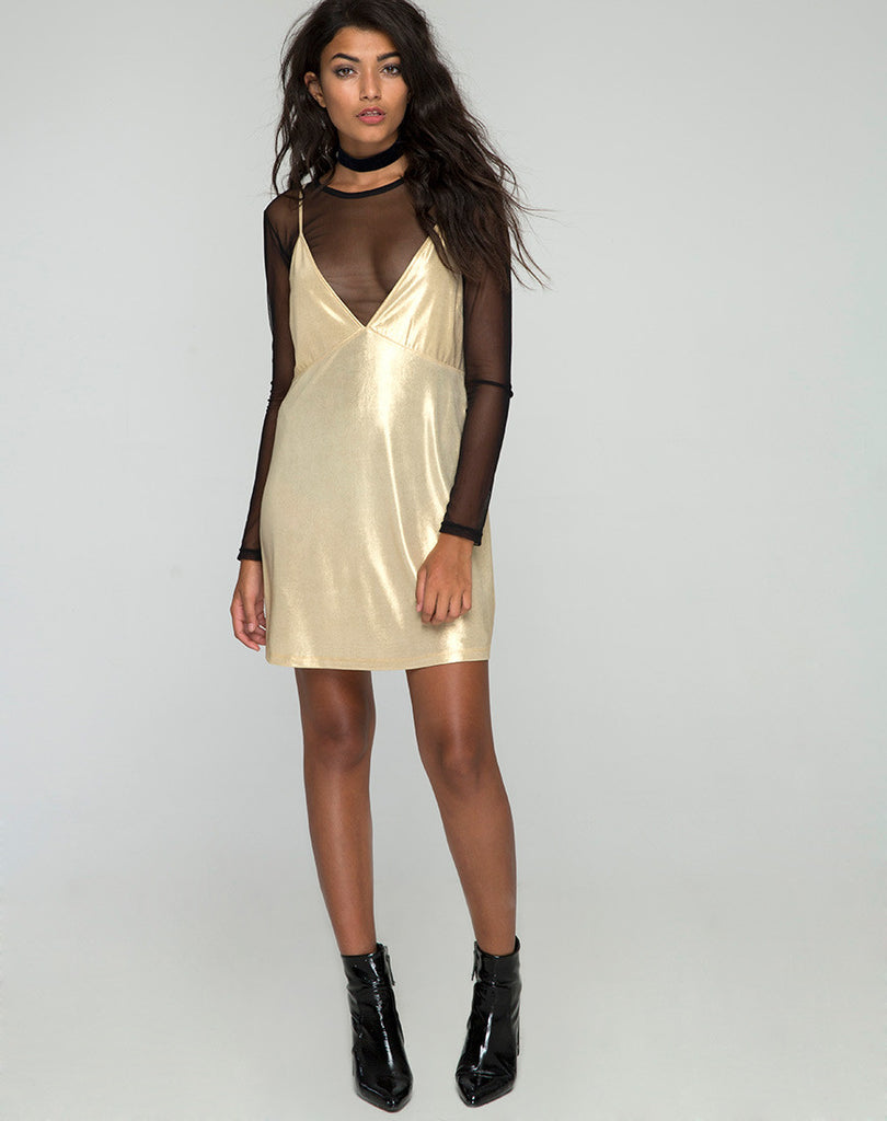 Dress in the gold rush