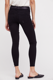 SHARK BITE SKINNY JEANS - BLACK