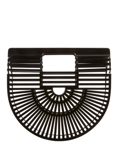 Cult Gaia Clutch Ark bag Black