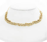 ROLLED CLUSTER CHAIN CHOKERS - SHOP MĒKO