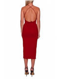 ADEL DRESS RED- MADAME X