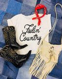 FEELIN' COUNTRY TEE - SHOP MĒKO