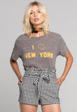 I SMILEY NEW YORK TEE