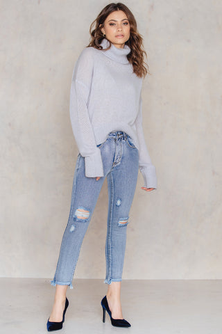 KENDALL CROPPED JEANS