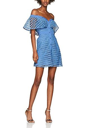 CROCHET LACE FRONT BUTTON UP DRESS