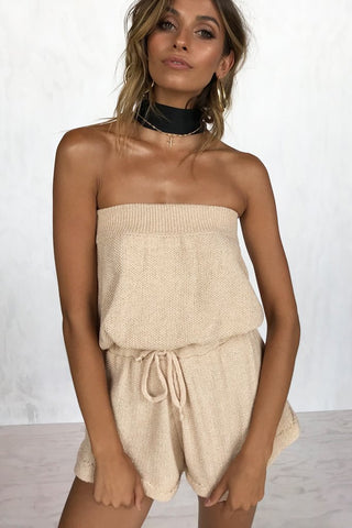 RANCHO KNIT ROMPER