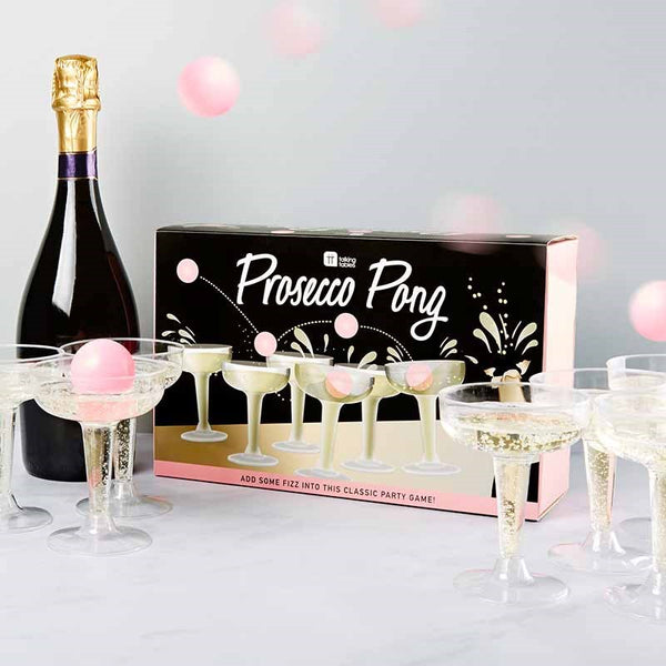 PROSECCO PONG PARTY GAME