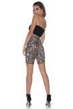 SNAKE IT EASY CYCLE SHORTS