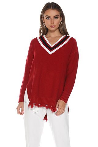 VARSITY CHEERLEADER SWEATER