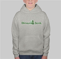 YOUTH PULLOVER SWEATSHIRT- GRAY