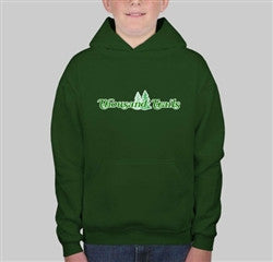YOUTH PULLOVER SWEATSHIRT GREEN