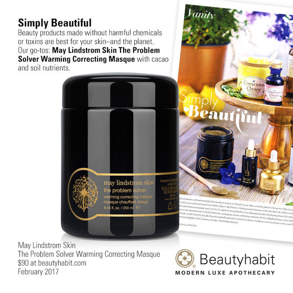May Lindstrom Skin, The Problem Solver Warming Correcting Masque, Beautyhabit