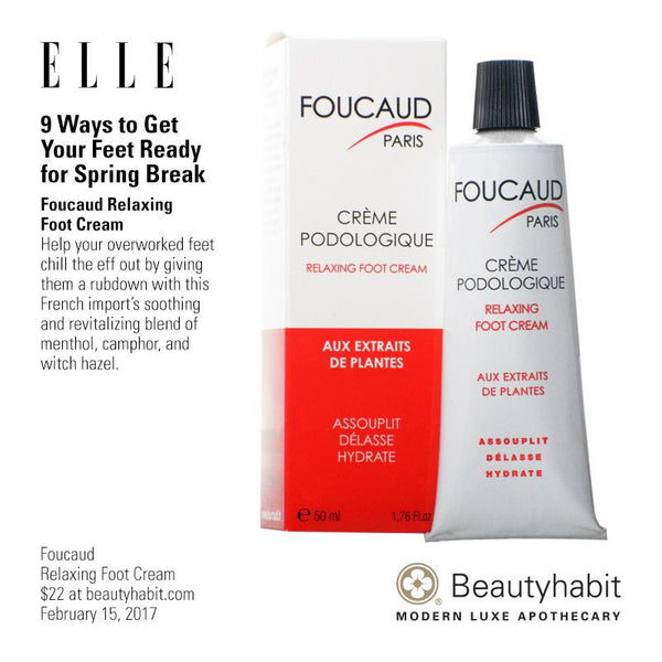 Foucaud, Relaxing Foot Cream, Beautyhabit