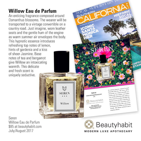 Seren, Willow Eau de Parfum, Beautyhabit