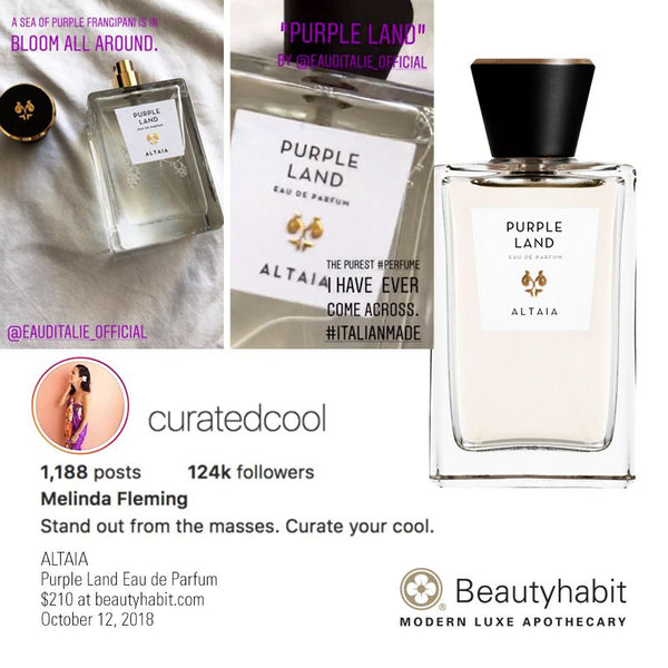 ALTAIA, Purple Land, Eau de Parfum, Beautyhabit
