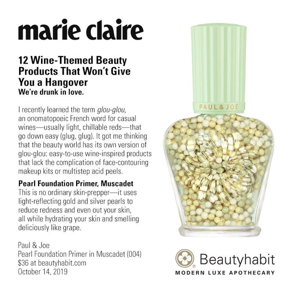Paul & Joe, Pearl Foundation Primer, Muscadet, (004), Beautyhabit