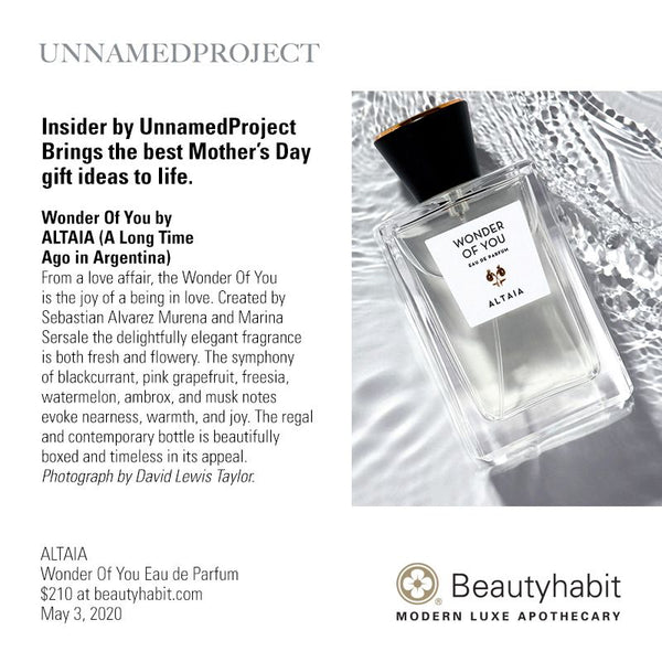 ALTAIA, Wonder Of You, Eau de Parfum, beautyhabit