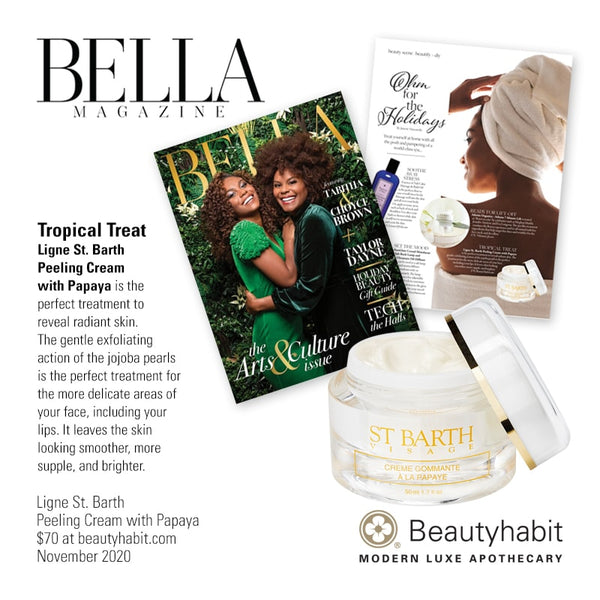 Ligne St. Barth, Peeling Cream with Papaya, Beautyhabit