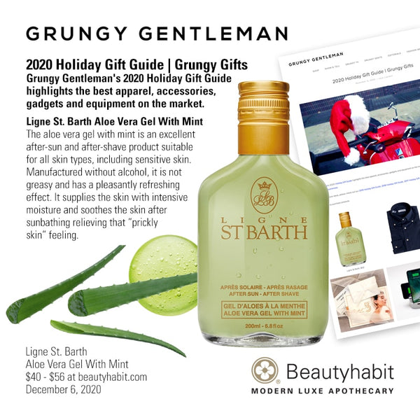 Ligne St. Barth, Aloe Vera Gel With Mint, Beautyhabit