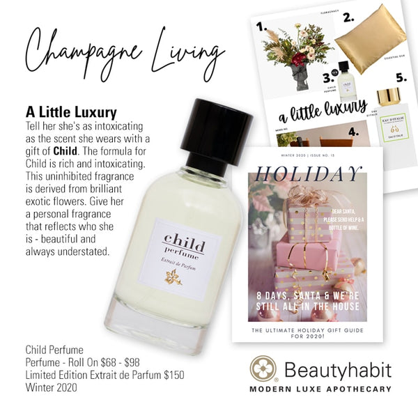 Child Perfume, Roll On, Limited Edition, Extrait de Parfum, Beautyhabit