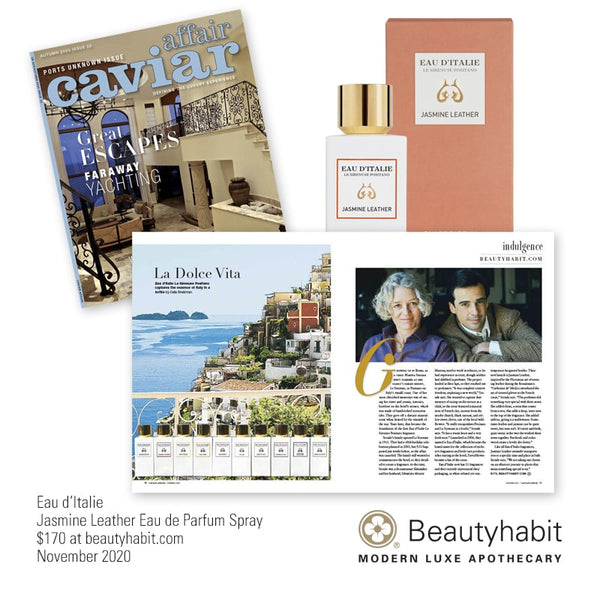Eau d'Italie, Jasmine Leather, Eau de Parfum, Fragrances, Beautyhabit