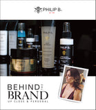 Behind the Brand - Up Close & Personal, Philip B., Beautyhabit