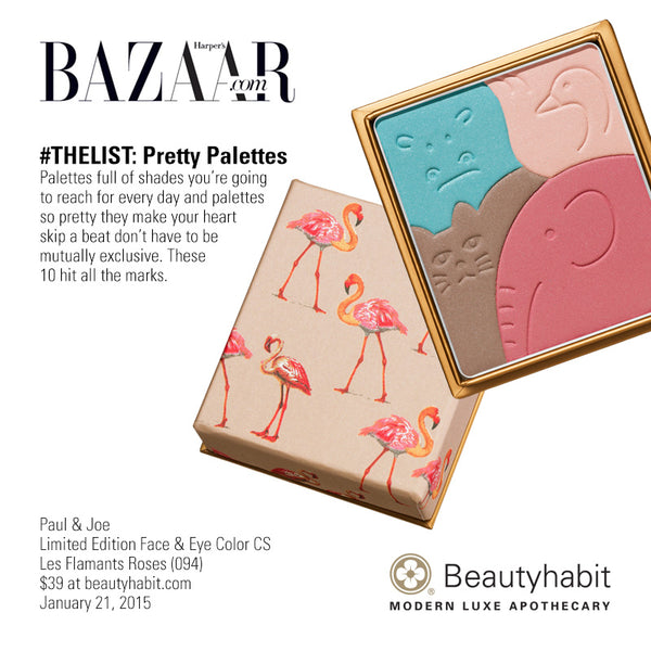 Paul & Joe, Limited Edition Face & Eye Color CS Les Flamants Roses (094), Beautyhabit