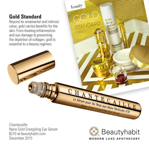 Chantecaille, Nano Gold Energizing Eye Serum, Beautyhabit