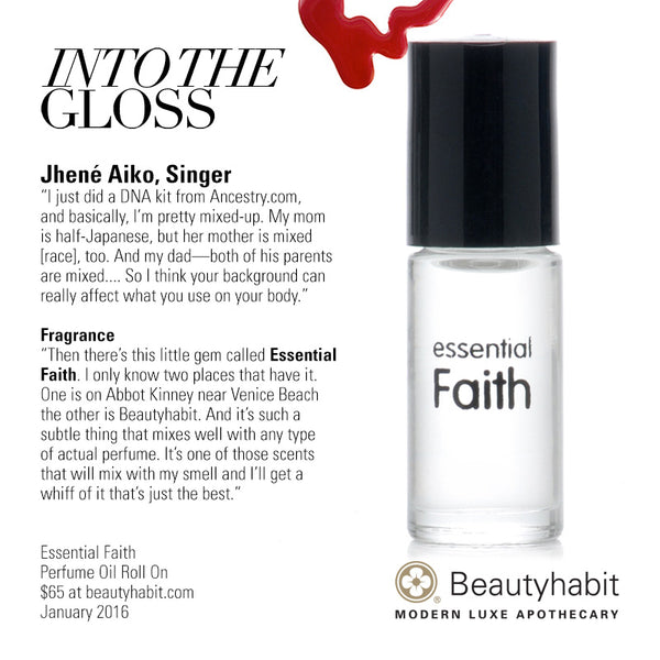 Essential Faith, Perfume Oil Roll On, Beautyhabit