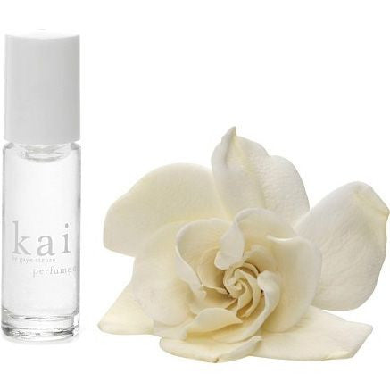 Kai Fragrance Perfume Oil Roll On with prime note flower