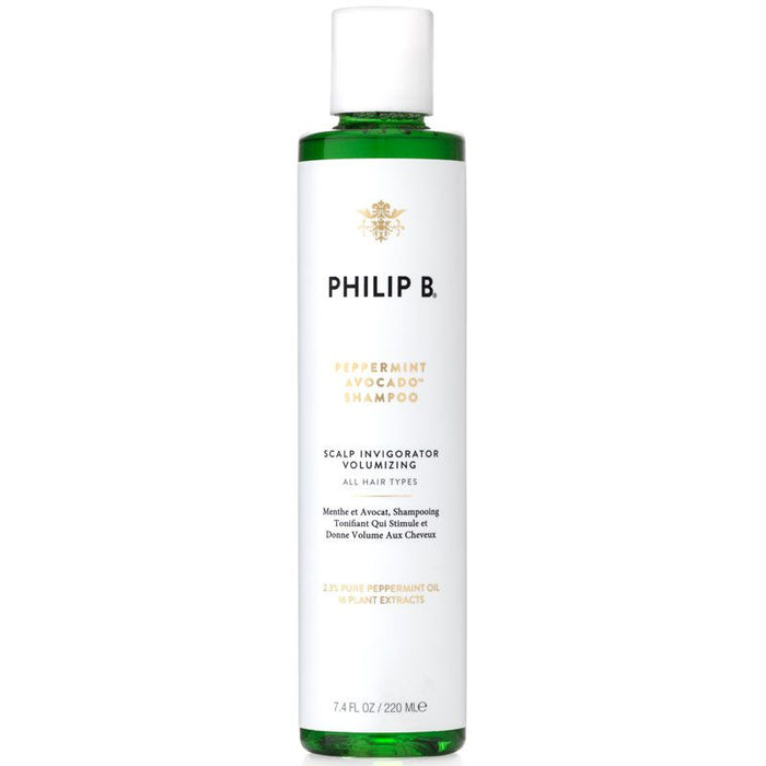 Philip B. Shampoo - Peppermint and Avocado Scalp Invigorator Volumizing - 7.4 oz