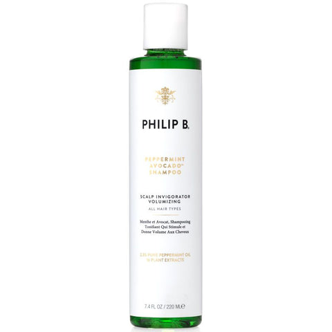 Shampoo - Peppermint and Avocado Volumizing & Clarifying