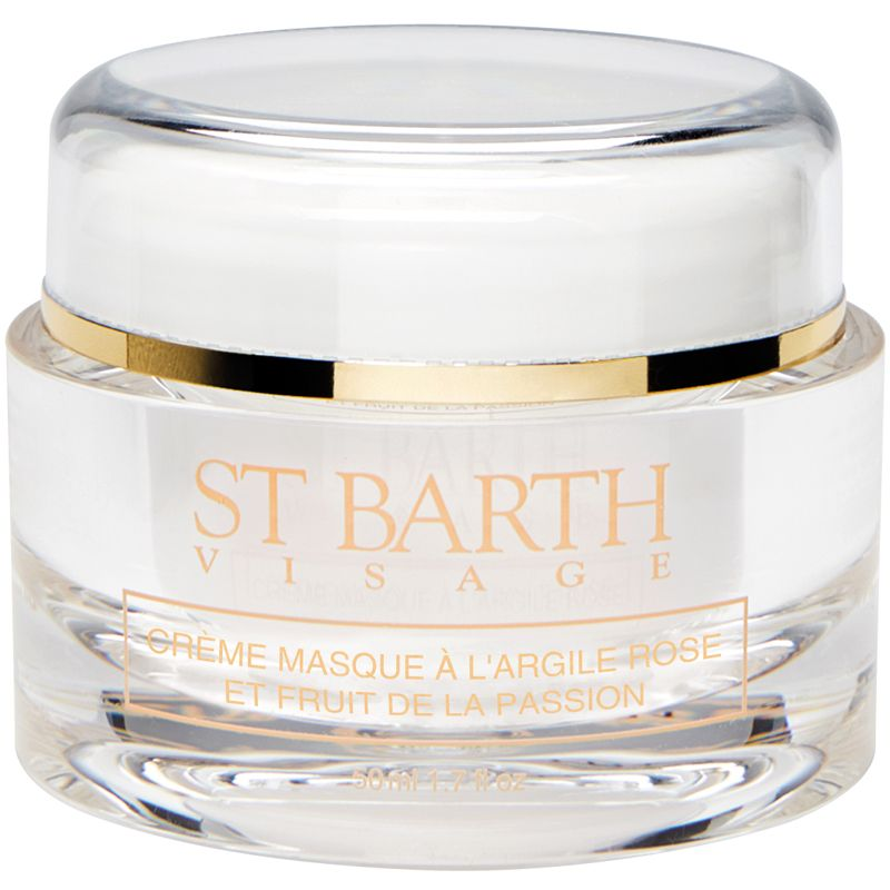 Ligne St. Barth Cream Mask with Pink Clay and Passionfruit 1.7 oz