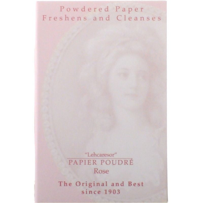 Papier Poudre Rose Powdered Blotting Papers - 1 book/65 sheets