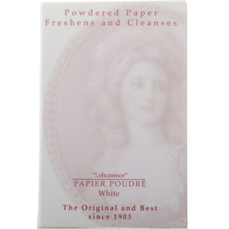 Papier Poudre White Powdered Blotting Papers - 1 book/65 sheets