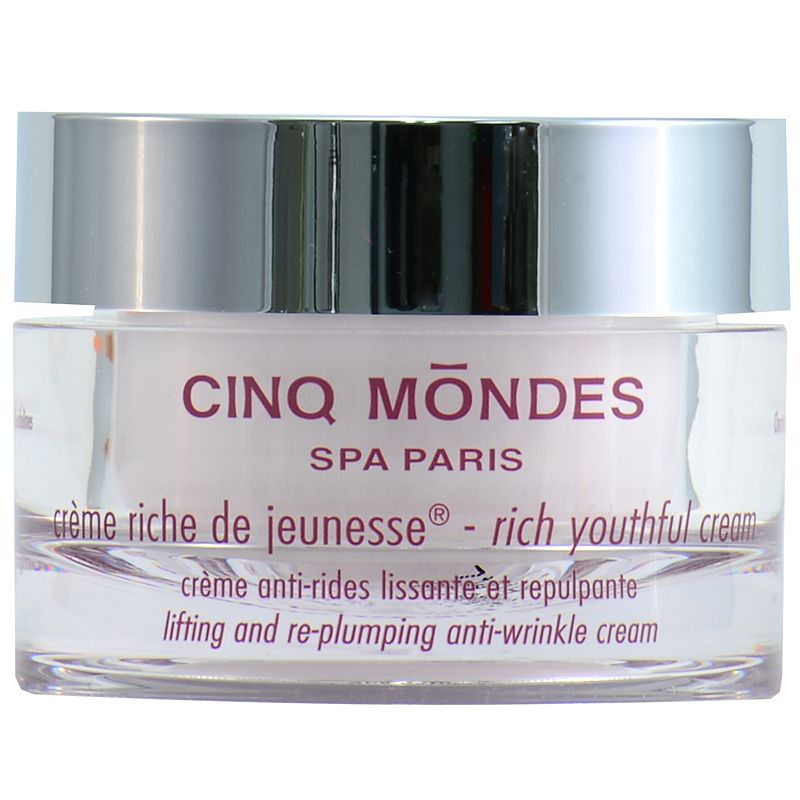 Cinq Mondes Rich Cream of Youth (50 ml) closed jar
