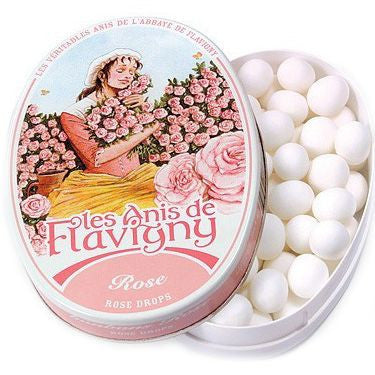 Les Anis de Flavigny Rose Flavored Hard Candy (190 g)