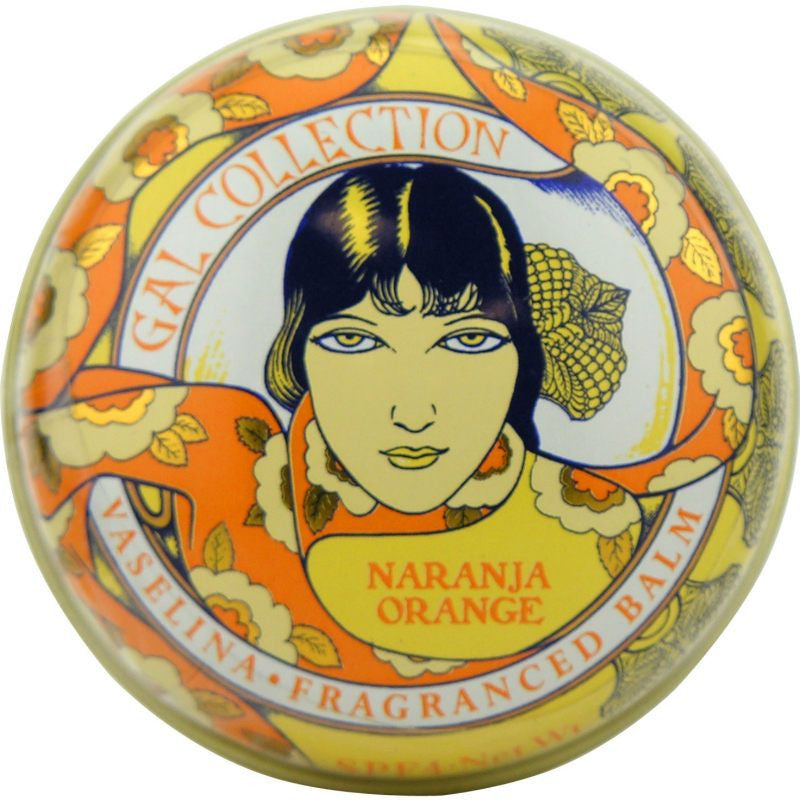 Perfumeria Gal Lip Balm Tin - Orange