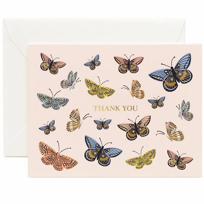 Monarch Thank You Card