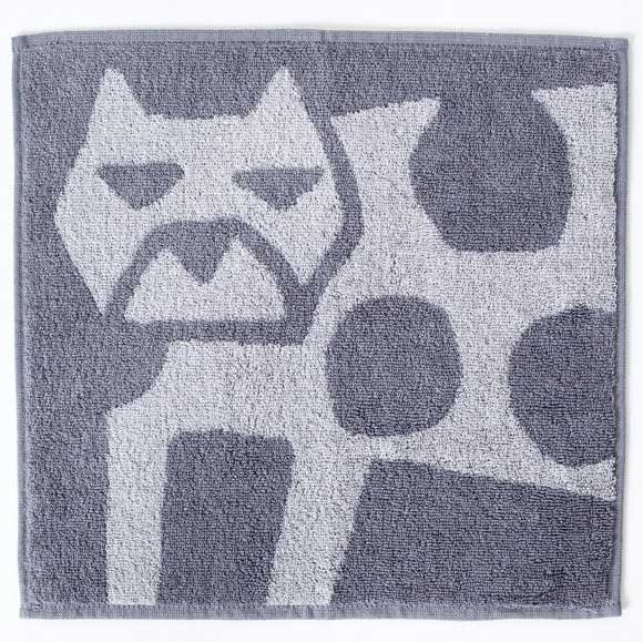 Ottaipnu Animal Washcloth - Cat 1 pc